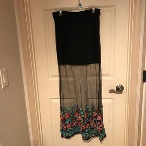 Crazy Train Skirts - Mesh skirt